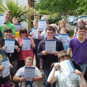 FACET Cambs Group with certificates